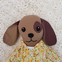 Check out this item in my Etsy shop https://www.etsy.com/au/listing/580840894/cloth-dog-doll-soft-dog-toy-dog-doll