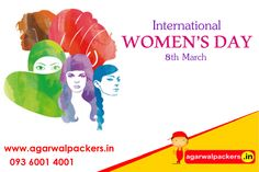 Happy Women's Day to all the lovely women, lets rise this women's day with more enthusiasm and determination to make this world a better place to live in. Happy International ‪#‎WomensDay‬.! ‪#‎Goodmorning‬ ‪#‎HappyWomensDay‬  Just call us now! 09360014001 Our website: http://www.agarwalpackers.in/ ‪#‎LimcaBookOfRecords‬ ‪#‎LimcaBook‬ ‪#‎AGARWALPACKERSANDMOVERS‬ ‪#‎Agarwal‬ ‪#‎packers‬ ‪#‎movers‬ ‪#‎drsgroup‬ ‪ ‪#‎india‬ ‪#‎SafeRelocation‬ ‪#‎Household‬ ‪