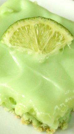 Cream Cheese Lime Bars
