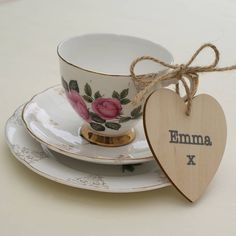 personalised wedding favour place setting by sparks living | notonthehighstreet.com