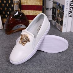 1e179b7e10 Versace 5519 Slide On Palazzo Sneaker White on sale here. Welcome to  shopping