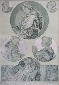 Figures Decoratives © Alphonse Mucha Estate-Artists Rights Society (ARS),