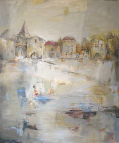"After the Rain----72"" x 60""----Acrylic...Martha Rea Baker"