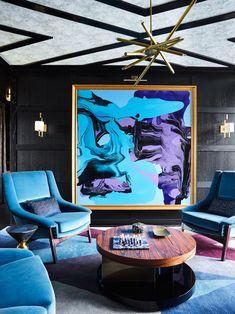 27 Ideas Art Deco Home Living Rooms Interior Design - Kronleuchter Contemporary Interior Design, Luxury Interior Design, Home Interior, Interior Design Living Room, Living Room Designs, Modern Contemporary, Decoration Inspiration, Interior Design Inspiration, Design Ideas