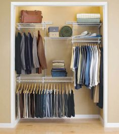 Budget Basics: Cheap Closet Systems