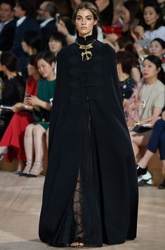 Black Godesses #ValentinoCouture2015 you cannot consider black 'boring' after experiencing this collection