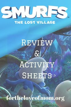 Smurfs: The Lost Village Movie Review  — For the Love of Mom