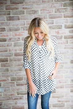 """""""The Lucille"""" Dotted Top"""
