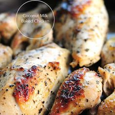 Coconut Milk Baked Chicken Recipe | Yummly