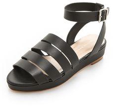 ec744defa161 Loeffler Randall Farrah Flatform Sandals - Lyst Shoes Flats Sandals