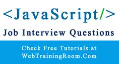 javascript Interview Questions Answers