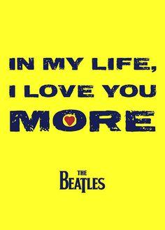 Beatles- In My Life- Lyrics Print, via Flickr.