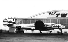 Chicago Midway Airport - TWA - 049 Constellation  (1959) (N90815)