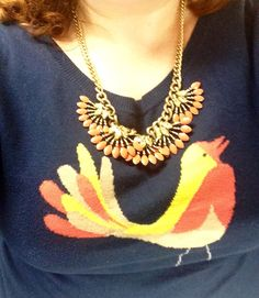 Shake your spring tail feathers with the Coral Cay necklace! www.stelladot.com/halavfurst Daily Dot, Shake, Feathers, Crochet Necklace, Coral, Dots, Spring, Jewelry, Stitches