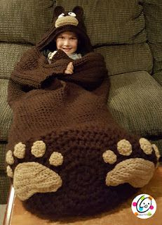Tina's handicraft : blanket with doilies