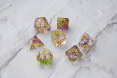 Dice RPG Set of 7 'Spirit Of' Dragon Dice , Dungeons and Dragons, Pathfinder, Board Games, D20, Geek Gift, Clear Dice, Dice Collectors by CritIt on Etsy https://www.etsy.com/listing/491408548/dice-rpg-set-of-7-spirit-of-dragon-dice