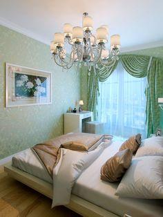Спальня / Интерьер трехкомнатной квартиры в стиле современной классики на Ленинском пр.