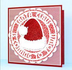 Bonnet de Noël fichier gratuit silhouette sst