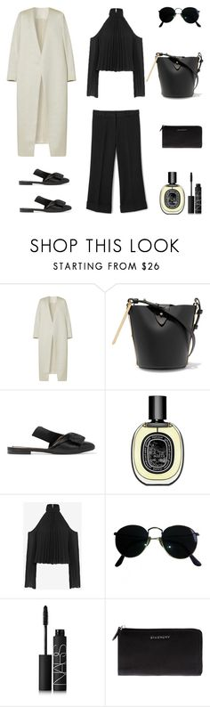 """Unbenannt #602"" by fashionlandscape ❤ liked on Polyvore featuring E L L E R Y, Sophie Hulme, N°21, Diptyque, Intermix, Ray-Ban, NARS Cosmetics and Givenchy"