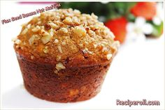 Flax Seed Banana Nut Muffins / Healthy Flax Seed Muffins ~ Sankeerthanam (Reciperoll.com)|Recipes | Cake Decorations | Cup Cakes |Food Photos