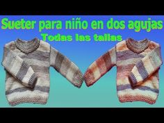 Sueter Jersey para niños tejido en dos agujas Todas las tallas parte #1 / Gentleman's sweater - YouTube Emotional Intelligence, Dinosaur Stuffed Animal, Girl Outfits, Crochet, Animals, Youtube, Knit Jacket, Knitting And Crocheting, Knits