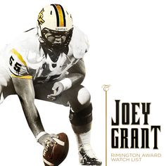 Just one year on the job and Joey Grant is already on the Rimington watch list for the best center in the country. Ucf Football, Ucf Knights, Cheer, Watch, Country, Humor, Clock, Rural Area, Country Music