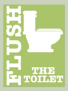 Items similar to Kids Bathroom FLUSH Printable Art on Etsy Bathroom Prints, Bathroom Kids, Kids Bath, Laundry Room Printables, Hand Washing Poster, Toilet Rules, Scrapbook Images, Bathroom Quotes, Funny Iphone Wallpaper