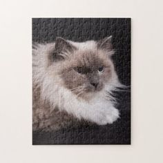 Beautiful Feline Jigsaw Puzzle - family gifts love personalize gift ideas diy