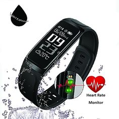Fitness Tracker, HapFit Smart Bracelet Activity Wristband Calorie Habit Heart Rate and Sleep Monitor Bluetooth Wireless Waterproof Pedometer Watch Counter Band for IOS  #Accessories
