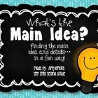 """This Main Idea/Details Pack has several activities that can be used with books of your choice.  Most of the activities are not """"book specific,"""" so ..."""