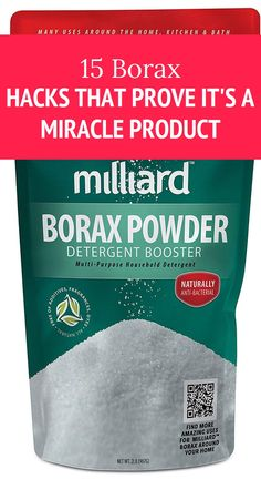 15 Borax Hacks That Prove It's a Miracle Product Health Goals, Health Motivation, Health Tips, Health And Wellness, Health Care, Herbal Cure, Herbal Remedies, Health Remedies, Home Remedies