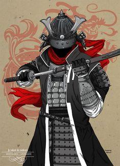 Le voleur de couleur samourai by arthelius.deviantart.com on @deviantART