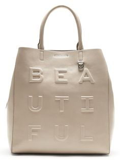 """""""Beautiful"""" Carry-All Tote. Perfect bag for fall! I will add my own chunky charm to it."""