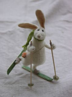 Sweet little felted animals -