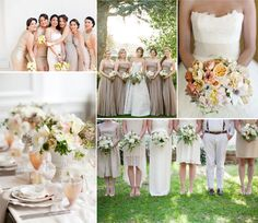 #neutral wedding ... Wedding ideas for brides, grooms, parents & planners ... https://itunes.apple.com/us/app/the-gold-wedding-planner/id498112599?ls=1=8 … plus how to organise an entire wedding ♥ The Gold Wedding Planner iPhone App ♥ http://pinterest.com/groomsandbrides/boards/