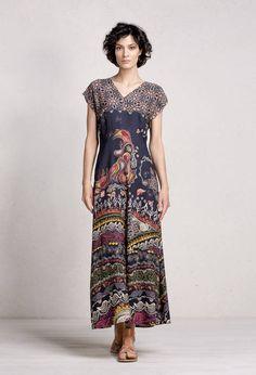 Long Dress with Print - Dress   Ivko Woman