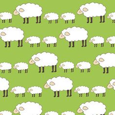 Creative Thursday FABRIC Collection: Locally Grown Print: Sheep Parade.  Isn't this the cutest fabric you've ever seen?