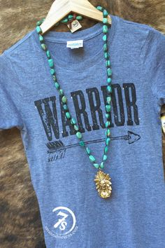 The Warrior (fitted tee) – From Savannah Sevens Western Chic