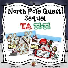If you are looking for a fun review game to reinforce ta/ti-ti or just want (or need) a fun, quick, no-prep Christmas themed activity this resource will be immensely popular with your young students! It comes with two game versions (16 total rhythms) in PDF form for your students to listen to and identify as they help Santa find the bag of toys he lost.