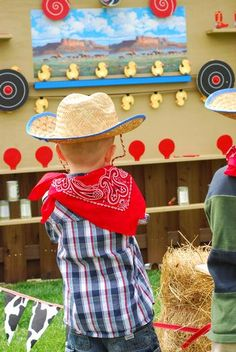 Cowboy Party (Shooting Gallery)