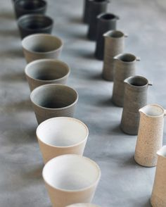 Pourer and cups by Jono Smart