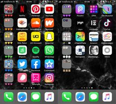 Aesthetic PhoneYou can find Iphone app and more on our website. Iphone Hacks, App Iphone, Iphone App Layout, Iphone Home Screen Layout, Organize Apps On Iphone, Good Apps For Iphone, Whats On My Iphone, Application Telephone, Handy App
