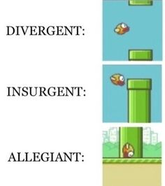 this was made because it is too true and DIVERGENT AND FLAPPY BIRD ARE LIFE!!!!!!!!!!!!!!!!!!!!!!!!!!!!!!!!!!!