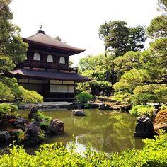Ginkaku-ji (Silver Pavilion Temple), Kyoto, Japan. Photo courtesy of luyjamie on Instagram.