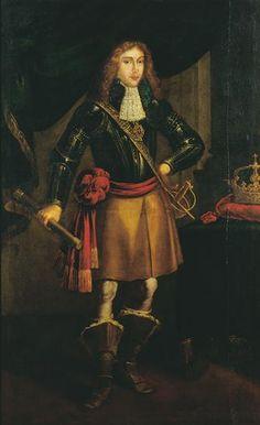Retrato do Rei Dom Afonso VI   Autor desconhecido  Século XVII   Óleo sobre tela  127 x 204 cm  Museu Nacional dos Coches