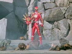 Ryouga Hakua / Aba Red [Abare Max Mode] (Bakuryuu Sentai Abaranger) Connor McKnight / Codename: Tyranno [Triassic Mode] (Power Rangers Dino Thunder)