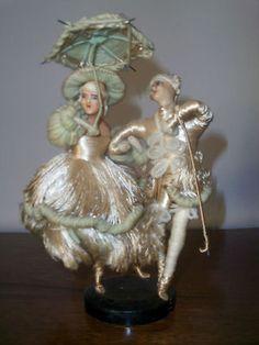Antique Wax Head Dolls Figurine | eBay