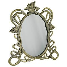 The Art Nouveau Blog: Art Nouveau Mirrors