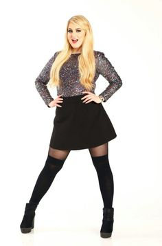 Meghan Trainor Born On December 22 Meghan Trainor, Catwalk Models, Plus Size Fashion Tips, Cute Underwear, Thing 1, Perfect Model, Short Models, Chubby Ladies, Victorias Secret Models