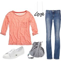 Casual Look, created by alyssakrause on Polyvore